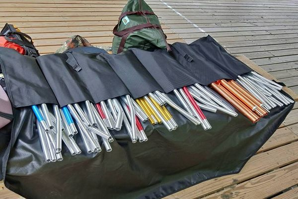 Lowden 帳篷10格骨架專用收納袋(特價$1500) 1